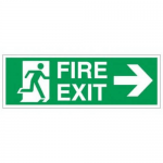 Fire Exit Double Face Lighted Signage