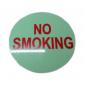NO SMOKING WORD STICKER