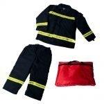 Fireman Suit Blue 4